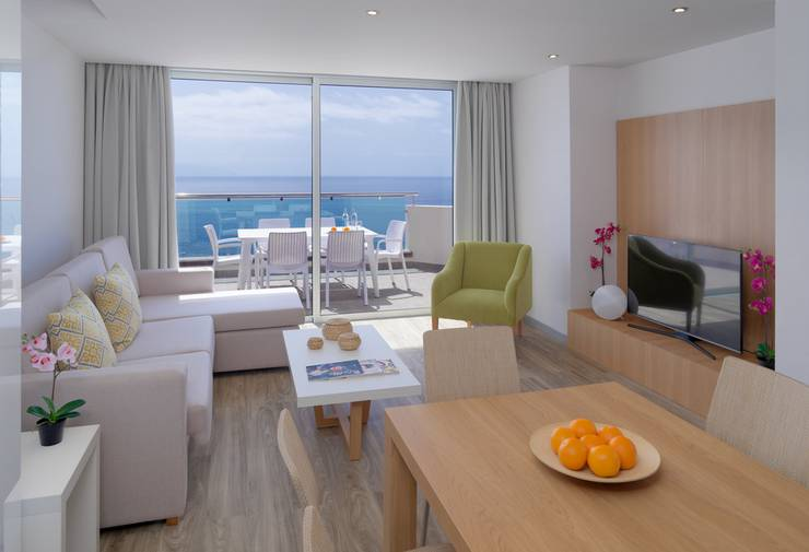 Luxus-apartment mit 2 schlafzimmern royal sun resort acantilado de los gigantes