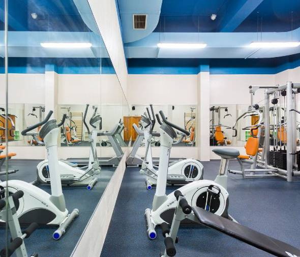 Gym adn sport facilities royal sun resort acantilado de los gigantes